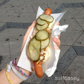 Hot Dogs in Copenhagen