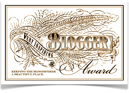 Very Inspirational Blogger Award Suitcasey