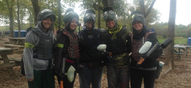Paintball Girls at CPX